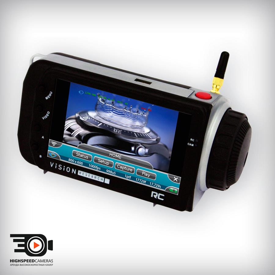 Аренда высокоскоростных камер Phantom Flex
